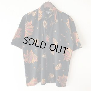 画像1: Pattern Shirt / Asia Black / size: L