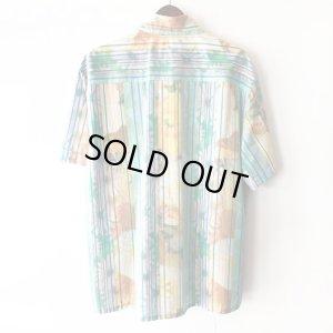 画像2: Pattern Shirt / Check Flower / size: XL