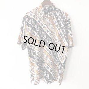 画像1: Pattern Shirt / Asian Paisley / size: XL