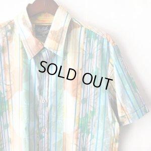 画像3: Pattern Shirt / Check Flower / size: XL