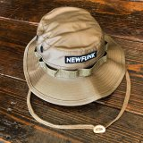 【NEWFUNK】JUNGLE HAT (BEIGE CAMO)