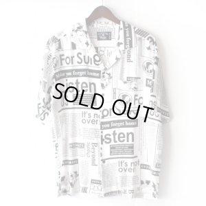 画像1: Pattern Shirt / Beyond White / size: L