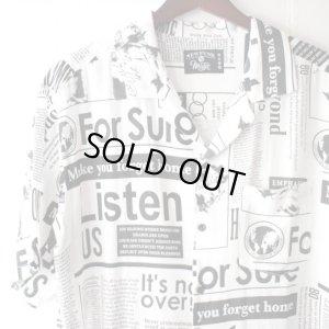 画像3: Pattern Shirt / Beyond White / size: L