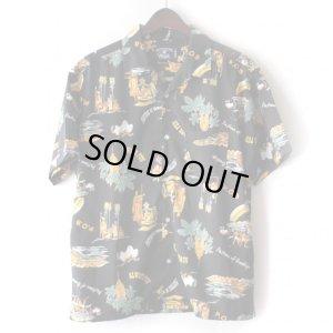 画像1: Pattern Shirt / Always Fun / size: M