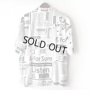 画像2: Pattern Shirt / Beyond White / size: L