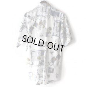 画像2: Pattern Shirt / Ston White / size: L