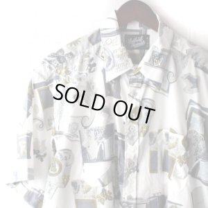 画像3: Pattern Shirt / Ston White / size: L