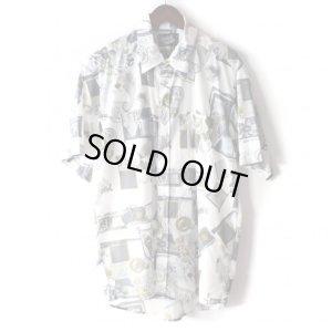 画像1: Pattern Shirt / Ston White / size: L