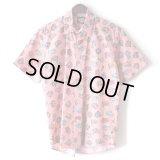 Pattern Shirt / Car Pink / size: L