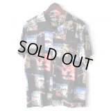 Pattern Shirt / Sunset Black / size: L