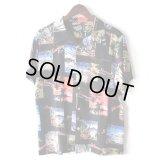 Pattern Shirt / Sunset Black / size: L