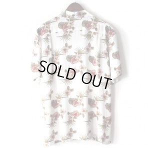 画像2: Pattern Shirt / Flower White / size: XL