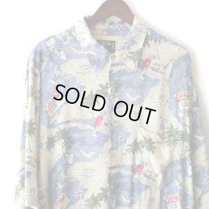 画像3: Pattern Shirt / Sea Aloha / size: 2XL