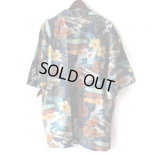 画像2: Pattern Shirt / Surf Board Blue / size: 2XL