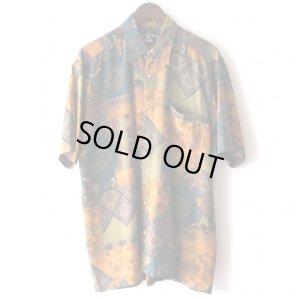 画像1: Pattern Shirt / Asa Pzr / size: XL