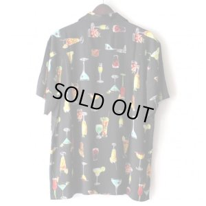 画像2: Pattern Shirt / Cocktail Black / size: XL