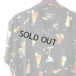 画像3: Pattern Shirt / Cocktail Black / size: XL
