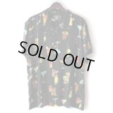 Pattern Shirt / Cocktail Black / size: XL