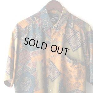 画像3: Pattern Shirt / Asa Pzr / size: XL