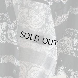 画像4: Pattern Shirt / PZRY BLACK / size: L