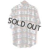 Pattern Shirt / Sapphire / size: XL
