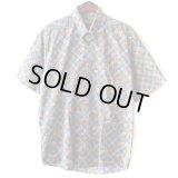 Pattern Shirt / G.Ball / size: L