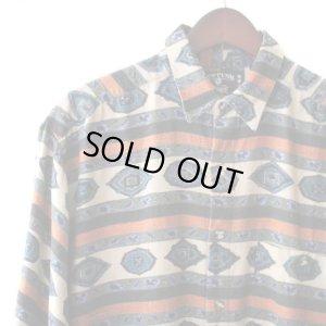 画像3: Pattern Shirt / Sapphire / size: XL