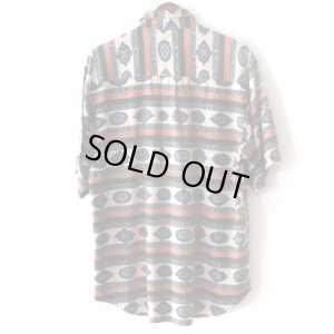 画像2: Pattern Shirt / Sapphire / size: XL