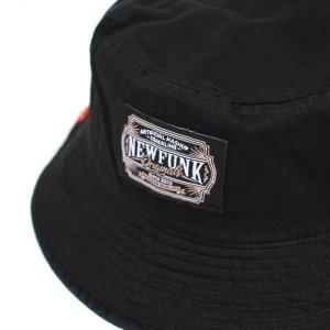画像2: 【NEWFUNK】AKMZTAG BUCKET HAT (BLACK)
