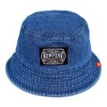 【NEWFUNK】AMKZTAG BUCKET HAT (INDIGO DENIM)