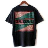 【NEWFUNK】PAISLEY BANDANA TEE (BLACK)