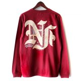 【NEWFUNK】FLASH LONG SLEEVE SHIRT (WINE)
