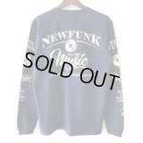 【NEWFUNK】MUSIC ALL DAY LONG SLEEVE SHIRT (NAVY)