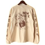 "【NEWFUNK】SIBA ""COOL J"" LONG SLEEVE SHIRT (Sand Beige)"