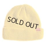 【NEWFUNK】SHORT KNIT CAP (YELLOW)