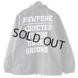 【NEWFUNK】DOM NILON COACH JACKET (BLACK)