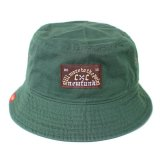 【NEWFUNK】BRWN BUCKET HAT (GREEN)