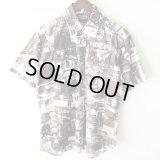 Pattern Shirt / Gray American / size: L