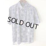 Pattern Shirt / Block Paisley / size: L
