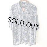Pattern Shirt / Navy Paisley / size: XL