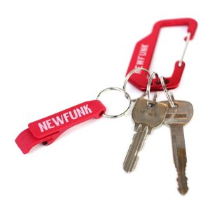 画像3: 【NEWFUNK】Carabiner Keychain