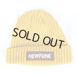【CRACKLIMB】NEWFUNK BOX KNIT CAP (Mustard)