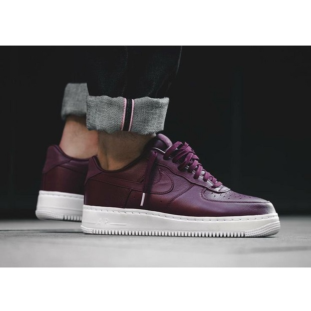 promo code f01d0 94a4c 【NIKE】NIKE LAB AIR FORCE 1 LOW NIGHT MAROON